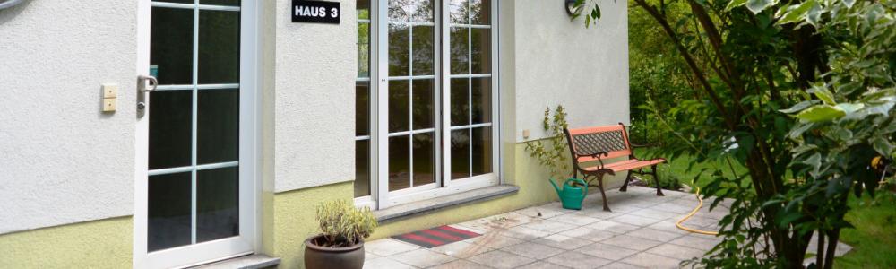 Doppelhaushälfte in ruhiger Waldlage mit Weitblick über Wien