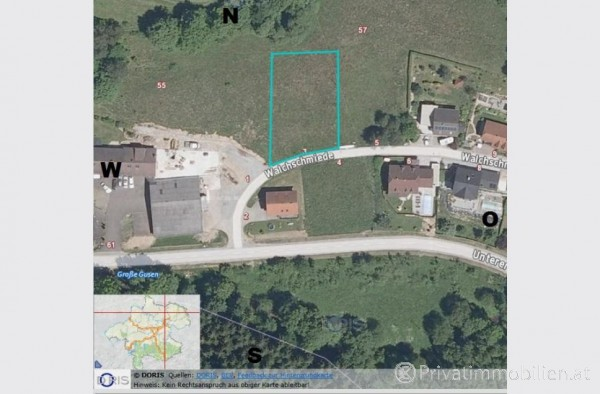 Grundstück für Einfamilienhaus / Villa - 4204 Reichenau im Mühlkreis - 237391