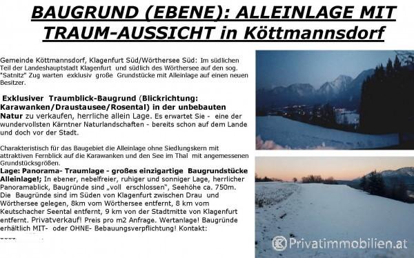 Grundstück für Einfamilienhaus / Villa - 9071 köttmannsdorf - 240865
