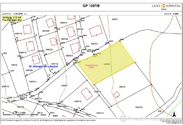 Grundstück für Einfamilienhaus / Villa - 9300 St Veit an der Glan - 241033