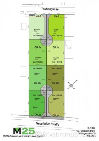 Grundstück für Einfamilienhaus / Villa - 2230 Gänserndorf - 242413