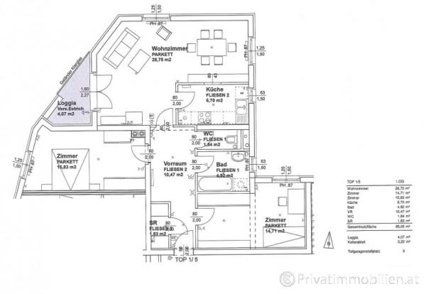 Genossenschaftswohnung - 3021 Pressbaum - 246610