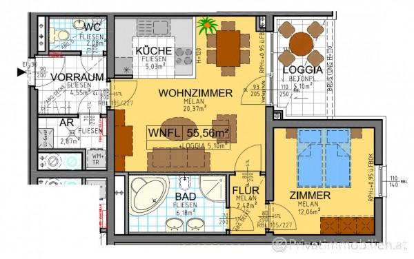 Genossenschaftswohnung - 3021 Pressbaum - 246740